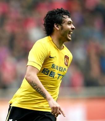 Ricardo Goulart Guangzhou Evergrande (Foto: Sina.com)