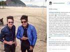 Empresário cita 'vazio' 6 meses após morte de Cristiano Araújo: 'Irmão'