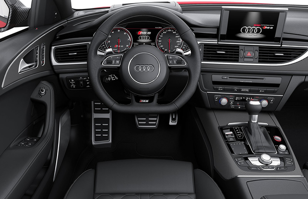 Interior do Audi RS6 Avant 2015 (Foto: Audi)
