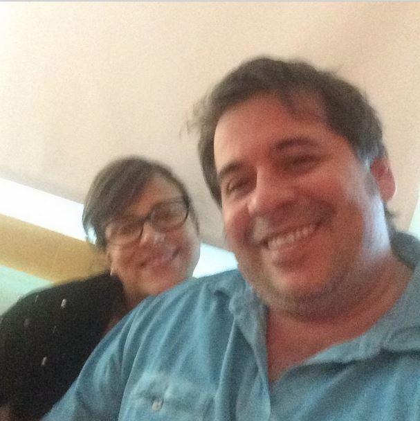 Leandro Hassum e mulher (Foto: Instagram / Reprodução)