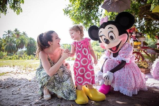 Aniversário de 3 anos de Milena, filha de Larissa Maciel (Foto: Reprodução/Instagram)