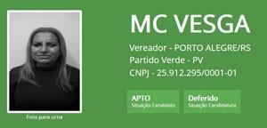 Ficha de MC Vesga (Foto: Reprodução/TSE)