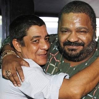 Zeca Pagodinho e Arlindo Cruz (Foto: Reprodução / Facebook)