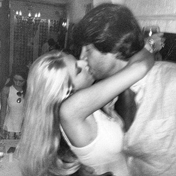 Caroline Bittencourt e o namorado, Paulo Veloso (Foto: Reprodução/Instagram)