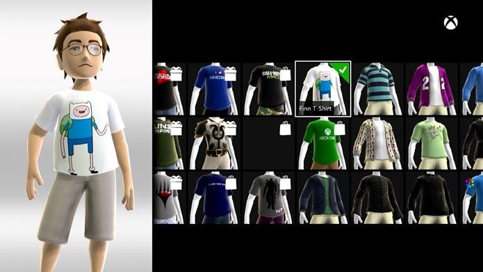 Xbox One: como customizar o seu avatar no console (Foto: Reprodução/Murilo Molina)