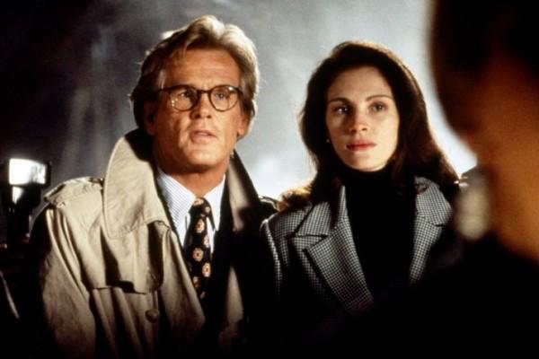 Nick Nolte e Julia Roberts em 'Adoro Problemas' (1994) (Foto: Reprodução)