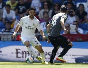 Isco e Moreno, Real Madrid x Espanyol (Foto: EFE)