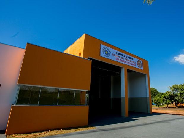Base foi inaugurada em junho pelo governo estadual (Foto: Alexandre Moreira/Governo do Estado de São Paulo)