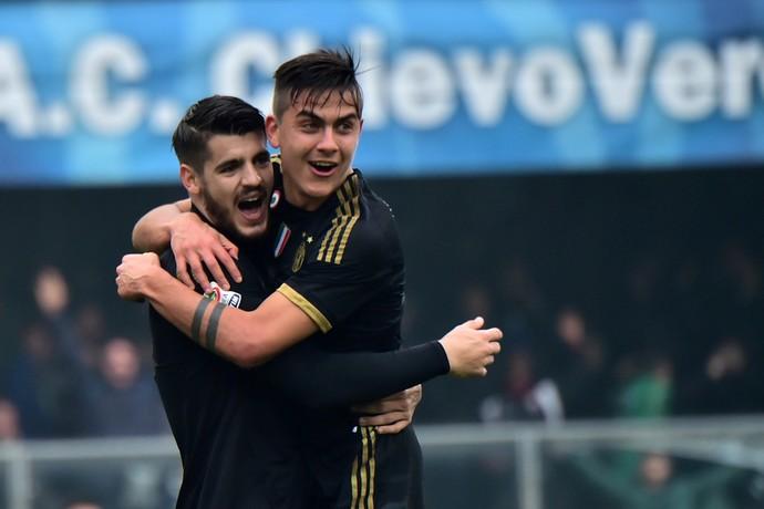 Morata Dybala Juventus Chievo (Foto: AFP)
