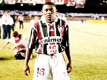 Vanin, auxiliar técnico do Cori-Sabbá, no tempos em que defendeu o Fluminense (Foto: Arquivo Pessoal)