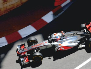 Jenson Button no treino do F1 em Mônaco (Foto: Getty Images)