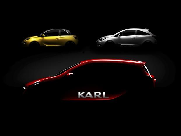Opel deu nome de Karl à novidade (Foto: Divulgação)