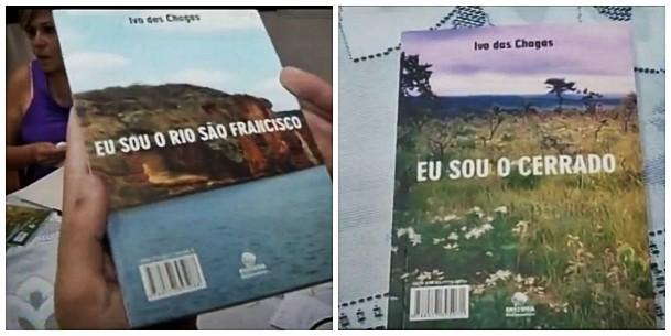 Livros do escritor Ivo Chagas (Foto: Divulgação/Inter TV)