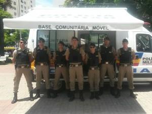 Itaúna novos policiais (Foto: 5ª Cia PM / Itaúna)