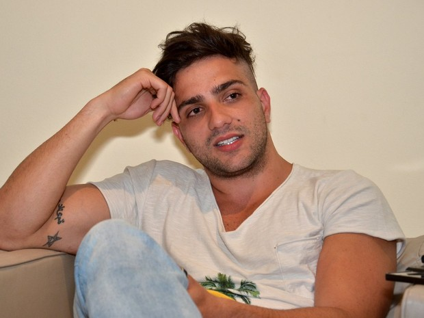 Junior Gianetti, do 'Big Brother Brasil 14' (Foto: Roberto Teixeira/ EGO)