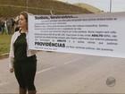 Manifestantes fecham MG-290 em Borda da Mata e pedem melhorias