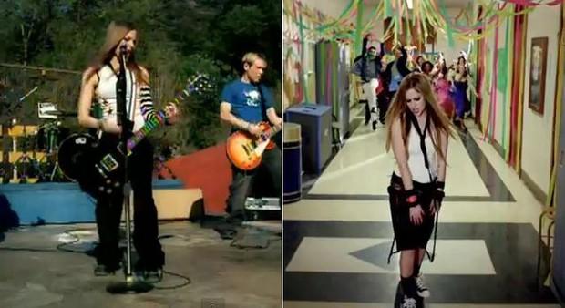 Clipes Avril Lavigne (Foto: Reprodução / Youtube)