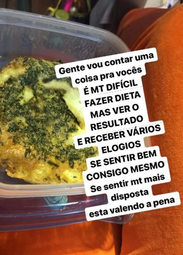 Dieta de Ludmilla (Foto: Reprodução/Instagram)