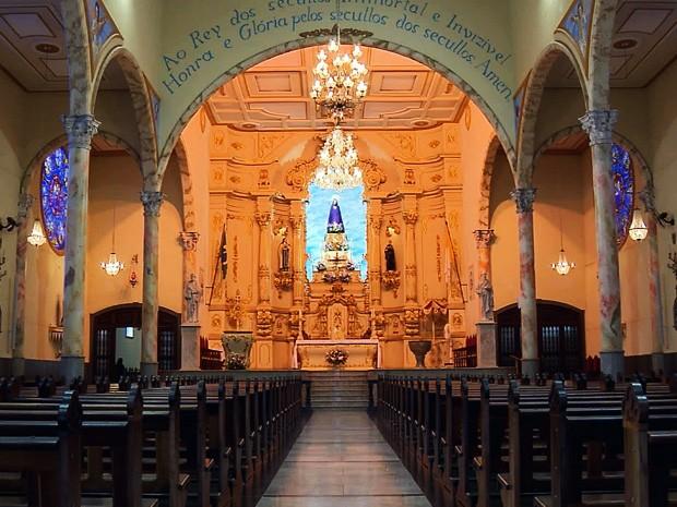 Catedral de Boa Esperança (MG) completa 200 anos (Foto: Reprodução EPTV / Claudemir Camilo)