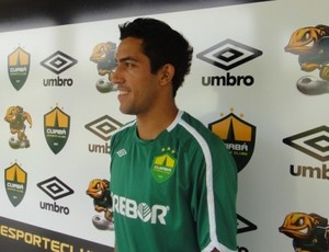 Renan, volante do Cuiabá Esporte Clube (Foto: Assessoria)