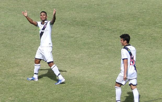 Comemoração do Vasco contra o vitória taça bh junior (Foto: Rafael Araújo)