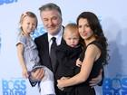 Filhos de Alec Baldwin roubam a cena em première de 'O poderoso chefinho'