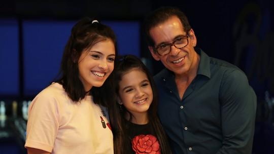 'A Cara do Pai': Leandro Hassum lança nova série ao lado da filha Pietra