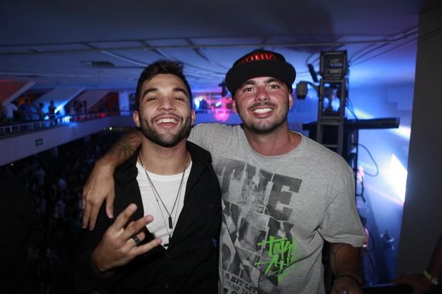 Jonathan Costa e Gustavo Galindo, os idealizadores da festa Funk à vontade (Foto: Isac Luz/EGO)