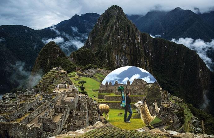 Google Street View mapeia a cidade histórica peruana de Machu Picchu (Foto: Pilar Olivares)