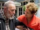 'Hasta siempre, Fidel!', afirma em nota ex-presidente Dilma Rousseff