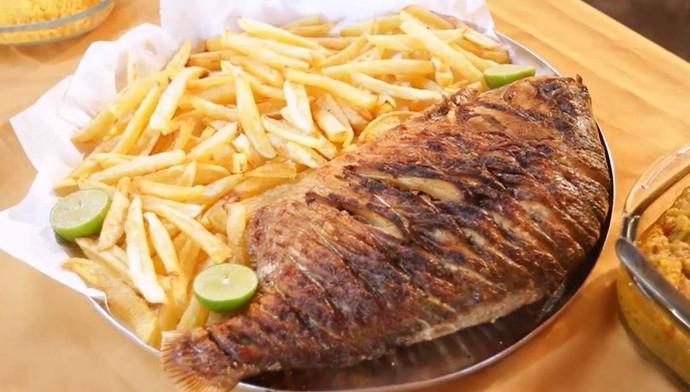 Peixe tropical é ótima opção para  a Semana Santa (Foto: Reprodução/Rede Clube)