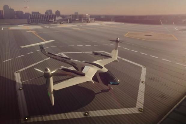 Uber: os táxis voadores estão chegando (Foto: reprodução)