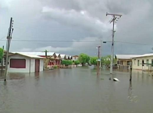 Anamã é o município do Amazonas mais atingido pela enchente (Foto: Bom dia Amazônia)