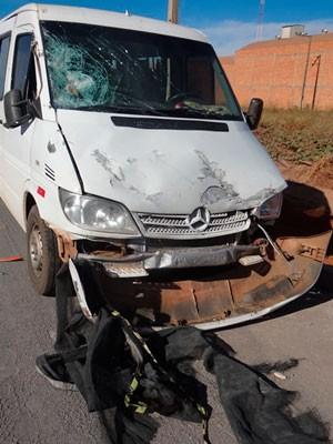 Mulher morre em acidente na BR-020 (Foto: Sigi Vilares/ Sigivilares.com)