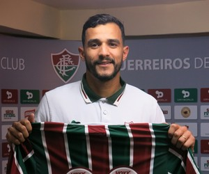 Henrique Dourado Fluminense (Foto: Edgard Maciel de Sá)
