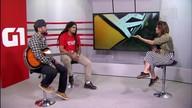 G1 Cultural entrevista representantes do festival Reggae na Praça