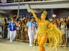 Viviane Araújo vai ser musa pela 3ª vez no carnaval do ES, diz escola