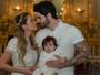 Veja mais fotos do batizado do filho de Rodrigão e Adriana Sant'anna