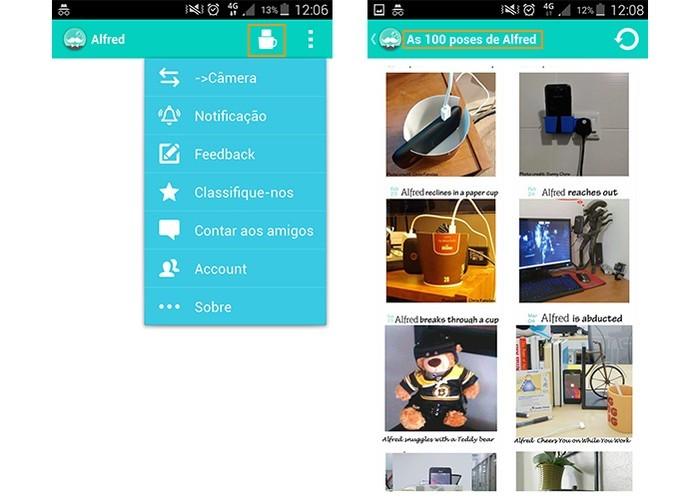 Use o app Alfred para transformar o celular em câmera de segurança (Foto: Reprodução/Barbara Mannara)