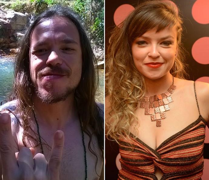 Tamiel do BBB16 já teve romance com ex-The Vocie Grace Carvalho (Foto: Acervo Pessoal e Isabella Pinheiro/Gshow)