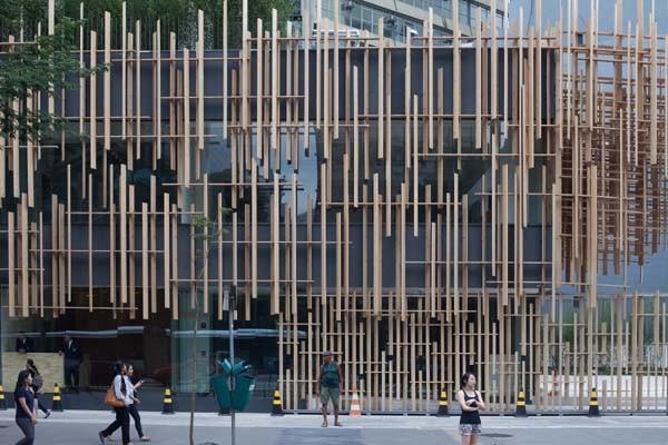 Fachada da Japan House: desde já um dos endereços mais bonitos da Avenida Paulista (Foto: Divulgação)