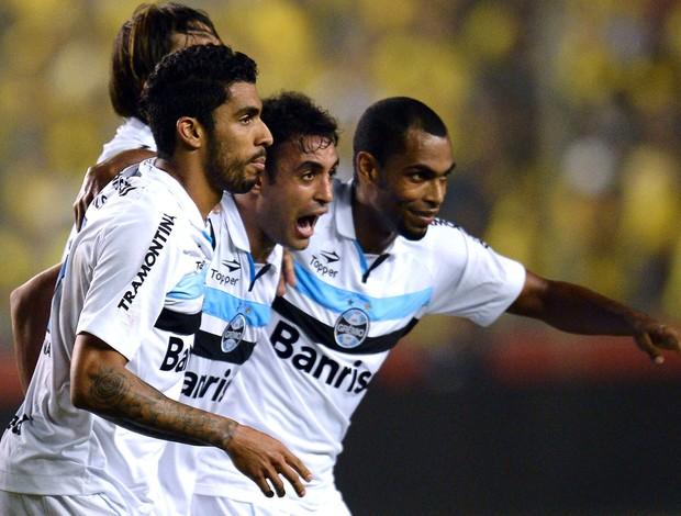 Werley, Barcelona-EQU x Grêmio (Foto: Agência AFP)