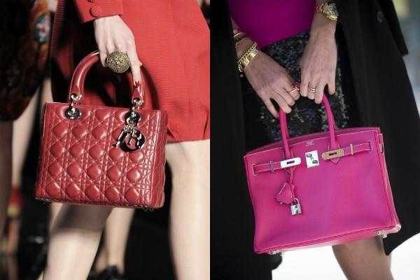 It-bags: Lady Dior e Birkin da Hermès são um dos modelos de bolsas mais desejados e atemporais (Foto: Getty Images)