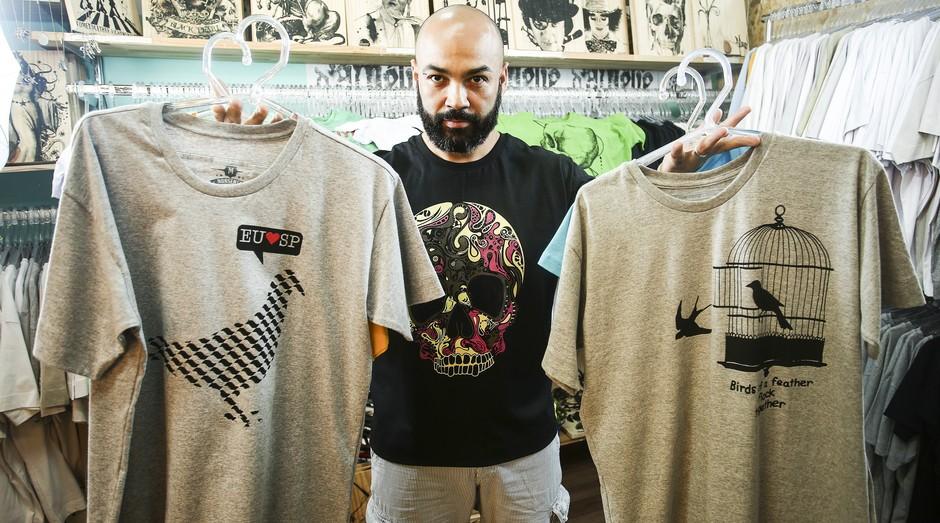 Mercado de camisetas continua em alta ce9f1a05c4e