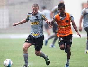 Marcelo Mattos treino Botafogo (Foto: Guito Moreto / Agência O Globo)