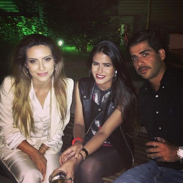 Cleo Pires e Antonia Morais no aniversário de Orlando Morais (Foto: Instagram/ Reprodução)