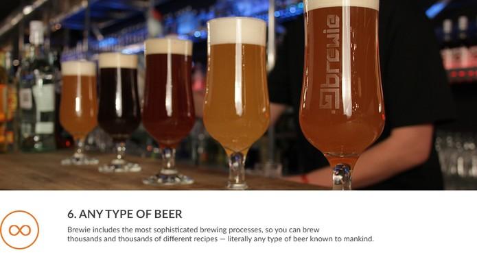 Todos os ingredientes podem ser encomendados a partir do próprio site Brewie (Foto: Divulgação/ Brewie)