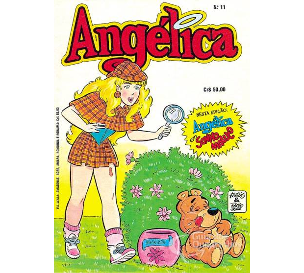 Gibi de Angélica (Foto: Reprodução / internet)
