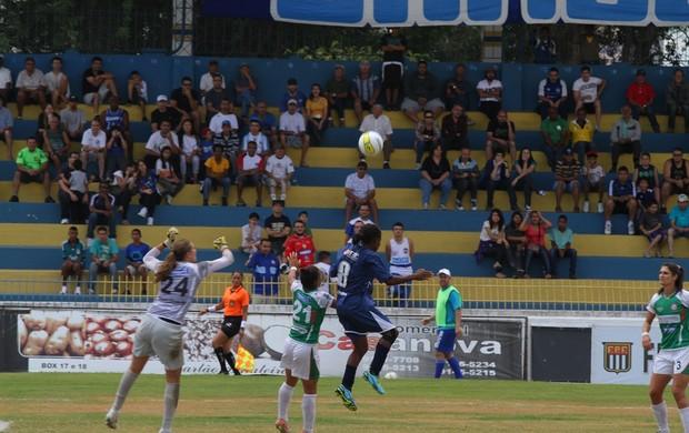 São José 1 x 1 Centro Olímpico futebol feminino (Foto: Antônio Basílio/ PMSJC)