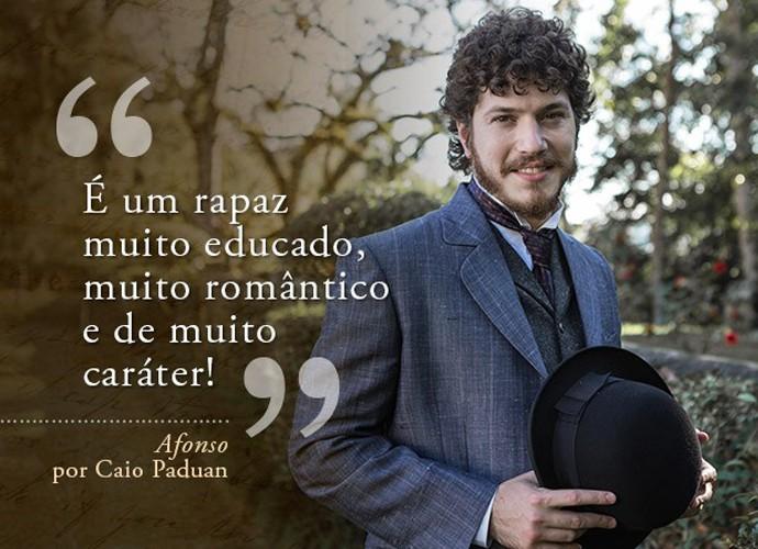 Afonso (Caio Paduan) (Foto: Gshow)